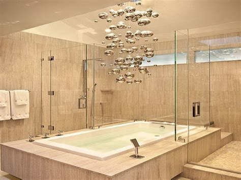 contemporary bathroom lighting fixtures unique contemporary light fixture over the tub 6777