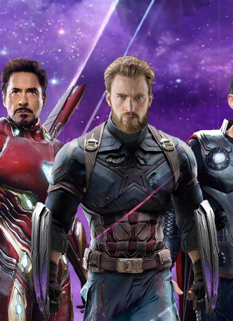 iron man captain america thor avengers infinity war