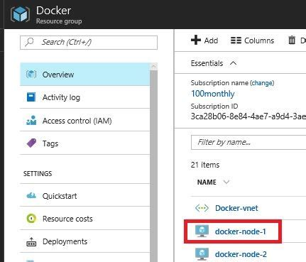 docker tutorial step 3 how to docker swarm on centos in azure step by step part