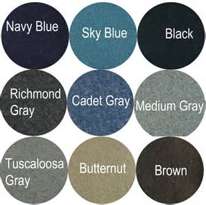 what color should the of the wear confederate officer shell jackets made in usa single