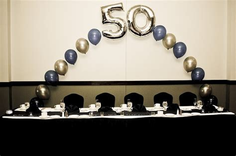 50th birthday colors easy and bright balloon decorations 50th birthday