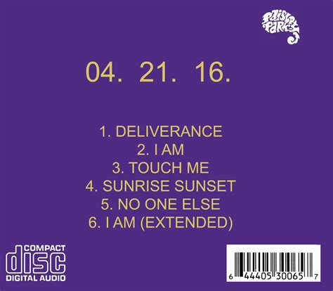 prince cd deliverance