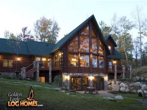 golden eagle log home plans lake house golden eagle log