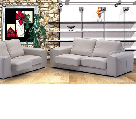 Italian Leather Sofa Sets Dreamfurniture Luxor Italian Leather Sofa Set