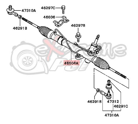 Rack Power Steering Bawah Lancer Evo 3 4 psi your 1 source for in stock performance parts