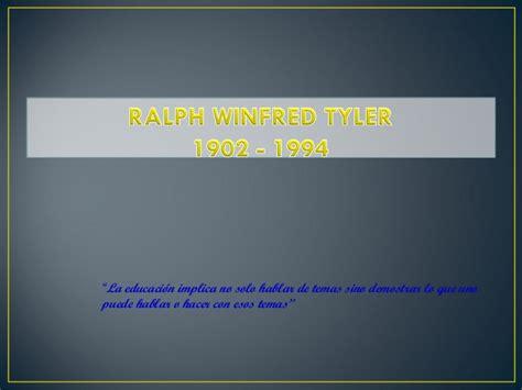 Modelo De Evaluacion Curricular De Ralph Pdf ralph el padre de la evaluaci 243 n