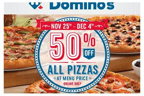 dominos sunday deals canada