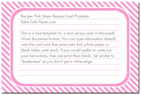 recipe card template doc index of wp content uploads 2012 12