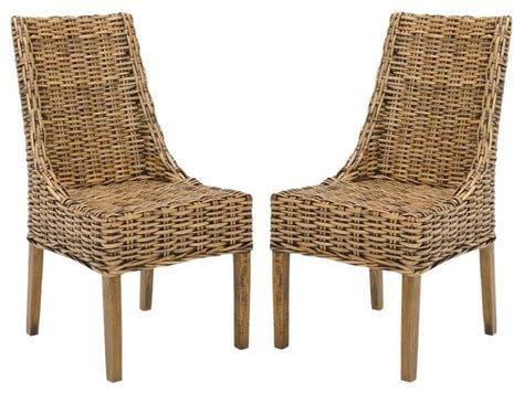 Accent Arm Chair Set Safavieh Suncoast Arm Chair Set Of 2 Brown