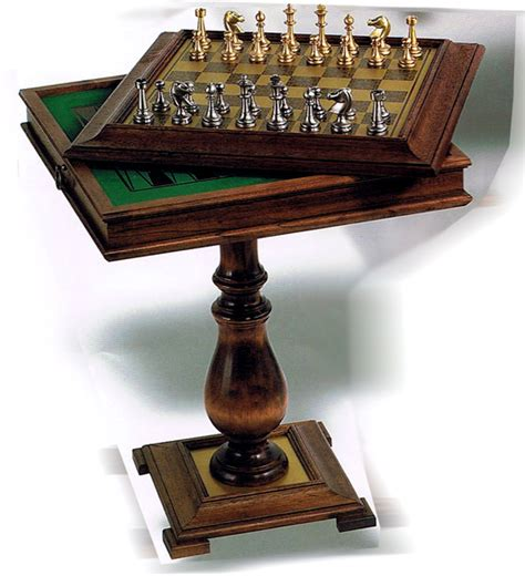 checkers chess table pedestal chess checkers backgammon table with