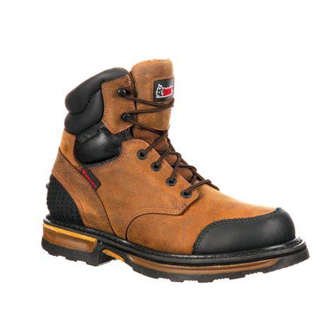 puncture resistant boots rocky elements wood puncture resistant work boot rkyk079