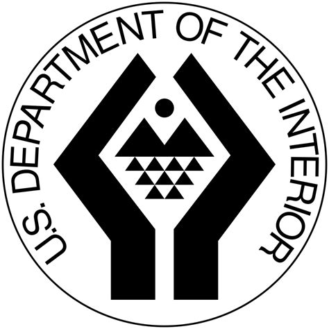 Us Dept Of Interior by File Us Department Of The Interior Logo Svg