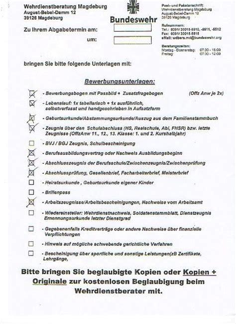 Lebenslauf Muster Bundeswehr bundeswehr lebenslauf vorlage anschreiben 2018