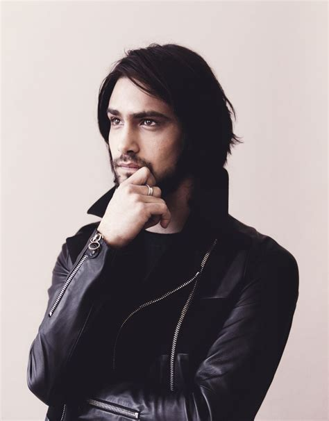 ibm commercial british actor luke pasqualino young but looks damn in leather