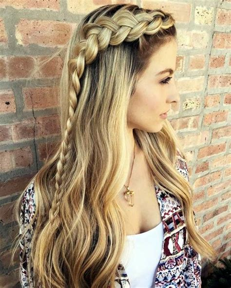 hairstyles for school thick hair 65 quick and easy back to school hairstyles for 2017