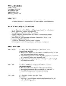 resume objective resume cover letter template
