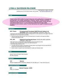 objectives for resumes nursing resume objectives
