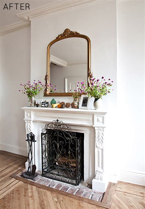 Fireplace Transformation by Before After Fireplace Transformation Design Sponge