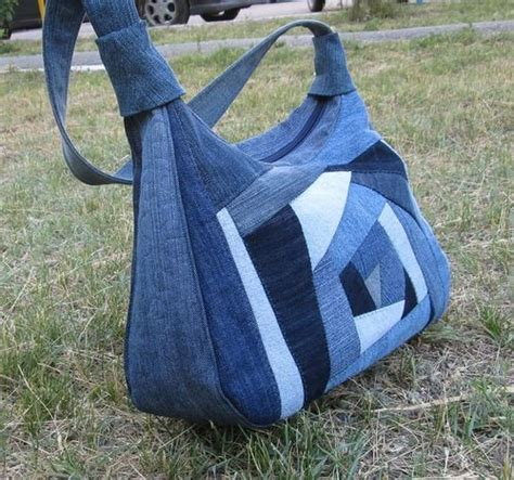 Denim Patchwork Bag Patterns Free - denim quilt bag picture only all about
