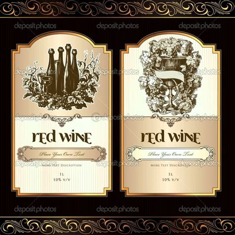 printable wine labels free templates free printable wine label templates template update234
