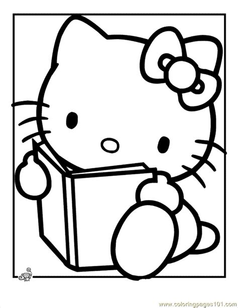 coloring pages for adults hello kitty hello kitty coloring readin printable coloring page for
