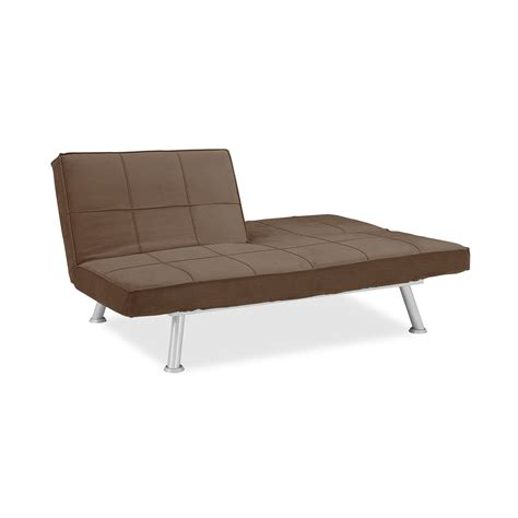 lifestyle sofa maxson convertible sofa java by serta lifestyle