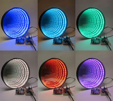 infinity mirror project arduino controlled rgb led infinity mirror 简体中文