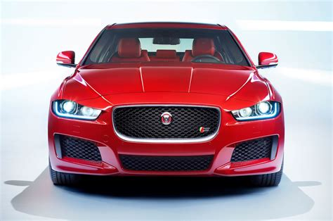 jaguar front jaguar xe goes green but looks better in red