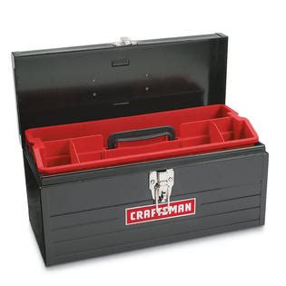 craftsman  metal hand box tools tool storage