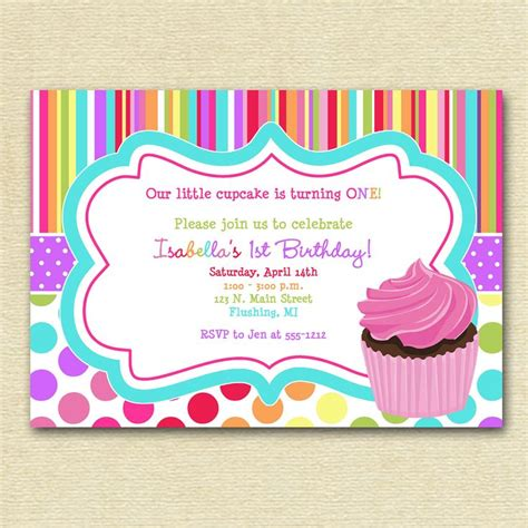 cupcake invitations template 17 best ideas about cupcake invitations on