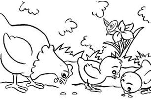 animal coloring free printable farm animal coloring pages for