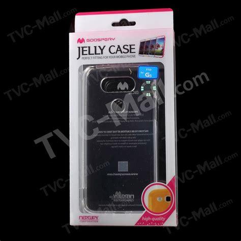 Lg G5 Jelly Goospery Soft New Cover Blue mercury goospery clear soft jelly tpu cover for lg g5