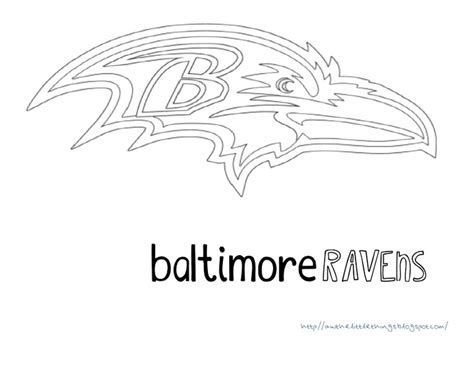 Ravens Coloring Pages ravens free coloring pages