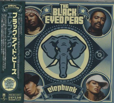 Cd Album Black Eyed Peas black eyed peas elephunk japan promo cd album uica1014