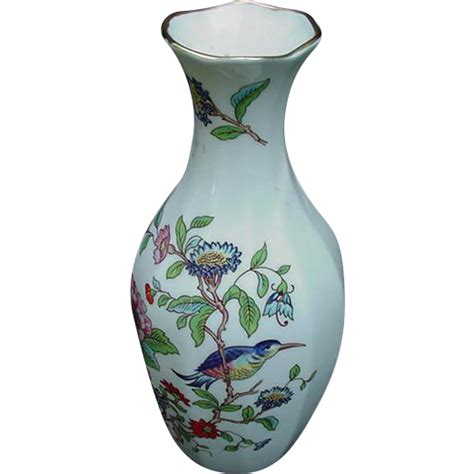 Aynsley Pembroke Vase by Aynsley Bone China Vase Pembroke Pattern