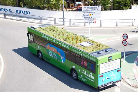green roof design by spanish based firm on a architects why not put green roofs on buses co design business