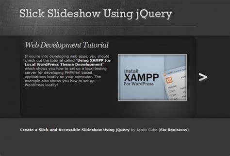 jquery tutorial advanced 15 amazing jquery slider tutorials graphicsbeam