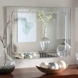 Bathroom mirror ideas diy white rectangle porcelain vessel