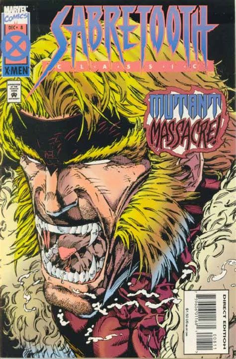 sabretooth classic vol 1 11 marvel comics database sabretooth classic vol 1 8 marvel database fandom powered by wikia