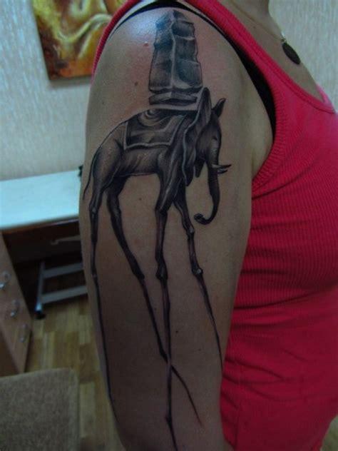elephant tattoo half sleeve 25 cool dali elephant tattoos