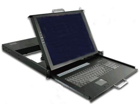 kvm rack drawer 1u rack mount rugged 17 quot lcd keyboard kvm switch drawer
