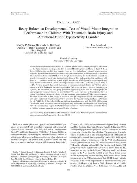 beery buktenica developmental test of visual motor integration scoring visual motor integration deficits caferacer 1firts