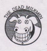 Dead Milkmen Cow Logo dead milkmen logo patch