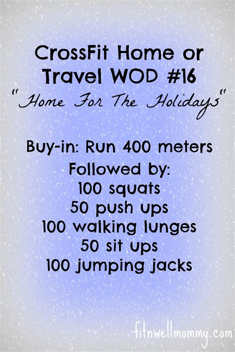 crossfit workouts for stay at home programs