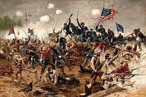 Battles of the civil war the encyclopedia of civil war