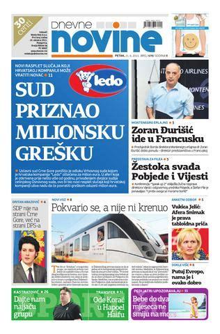 izdanje 21. jun 2013. by dnevne novine issuu