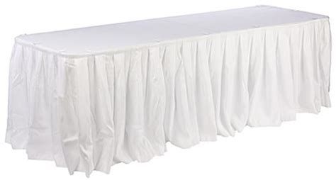 six table cloths white table cloths skirts for six table cover
