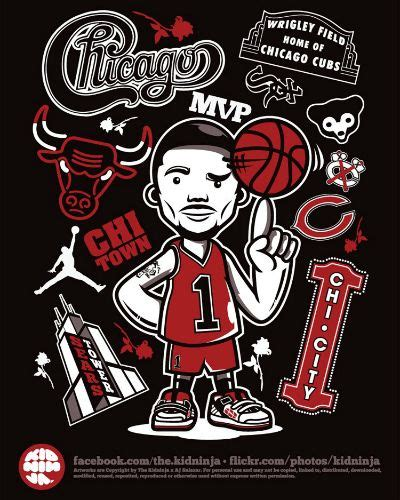 derrick rose chicago tattoo my and on