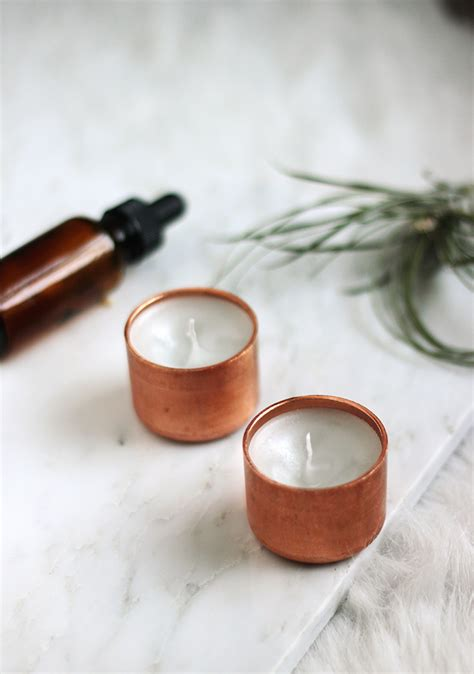 copper projects diy copper candle 187 the merrythought