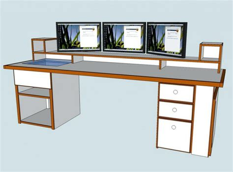 How To Build A Computer Desk From Scratch How To Build A Corner Desk From Scratch